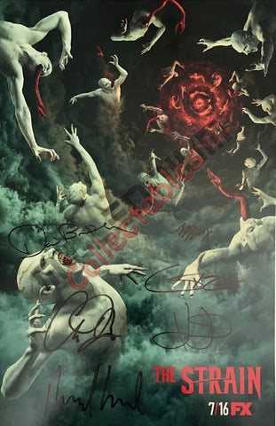 SDCC 2017 Exclusive Autographed Poster - The Strain
