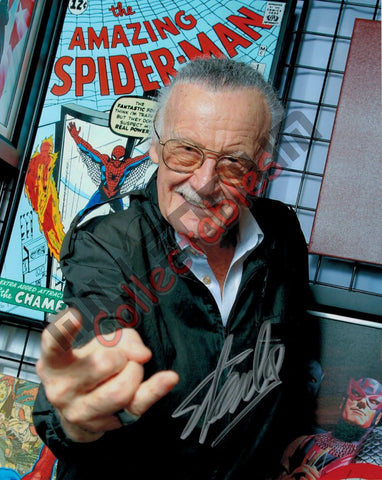 Stan Lee - Stan's Spider-Man Pose #1