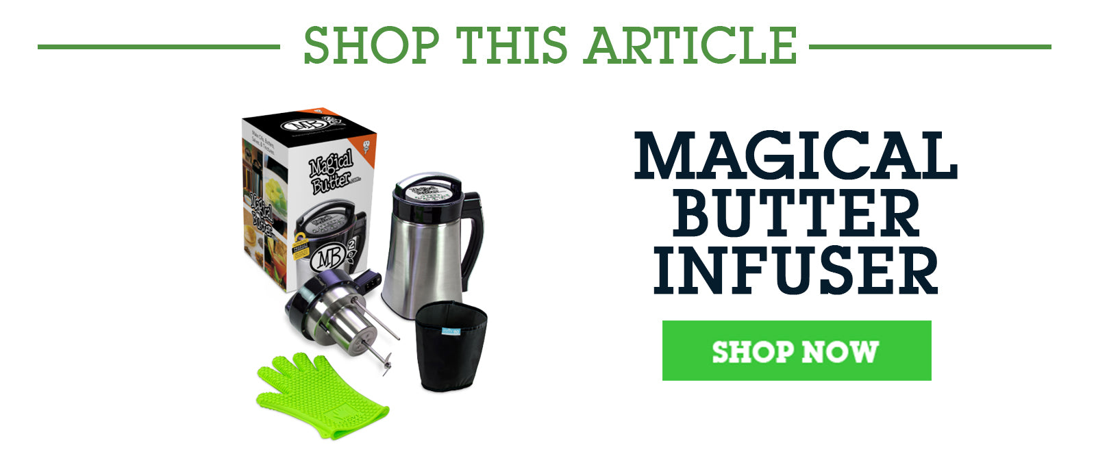 Magical Butter Infuser