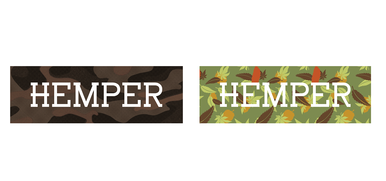 HEMPER Fall Slap Stickers