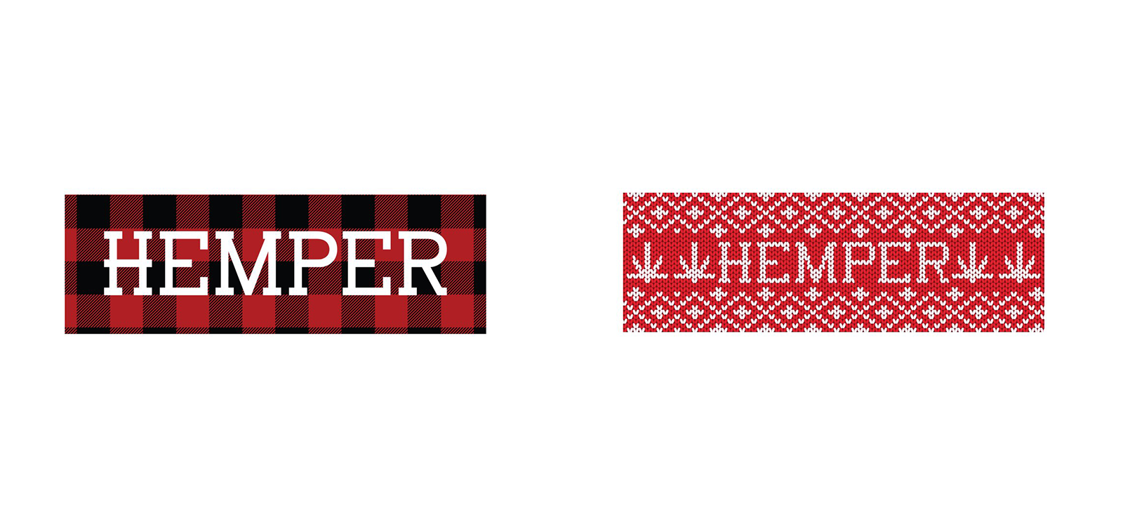 HEMPER Christmas Slap Stickers