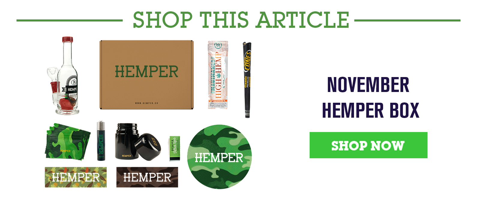 The November HEMPER Box