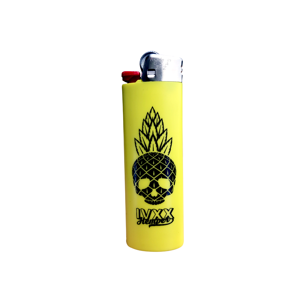 HEMPER x Strain Central Pineapple Bic Lighter