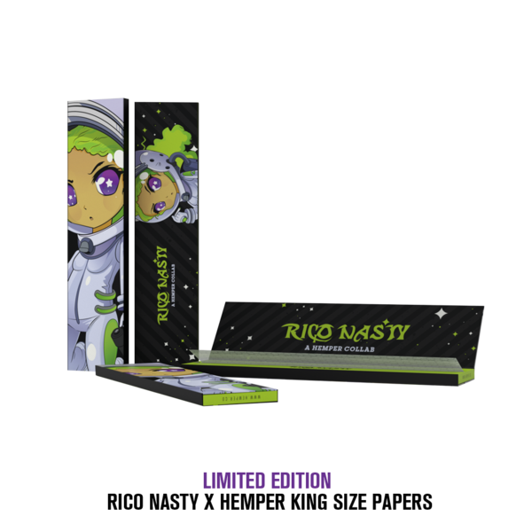 Limited Edition Rico Nasty King Size Rolling Papers