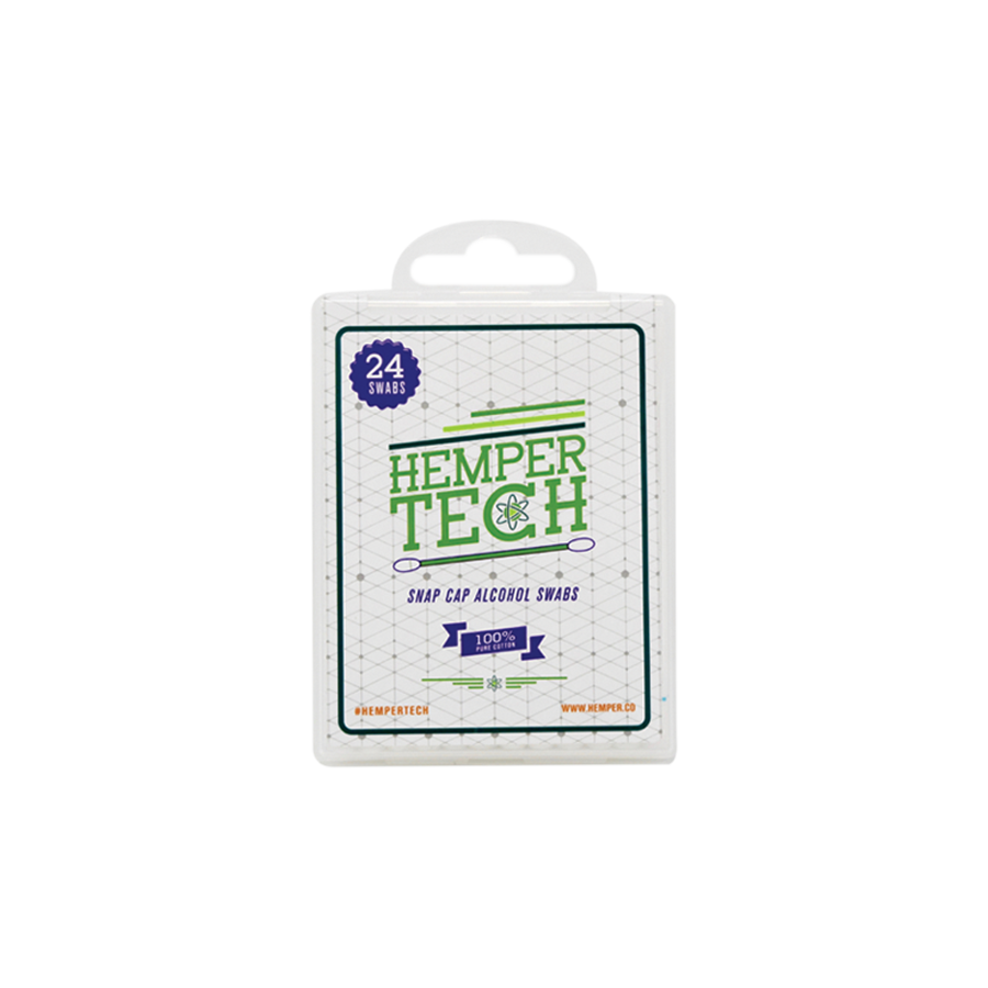 HemperTECH Snapcap Alcohol Swabs