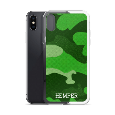 Camo iPhone Case (Green)