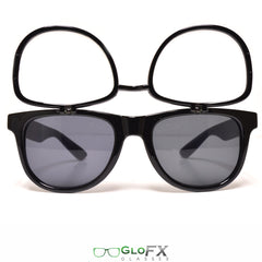 GloFX Flip Sunglasses + Diffraction Black