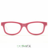 GloFX Standard Diffraction Glasses - Fuchsia