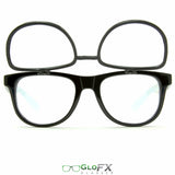 GloFX Matrix Diffraction Glasses- Black