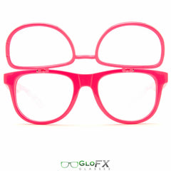 GloFX Matrix Diffraction Glasses- Pink