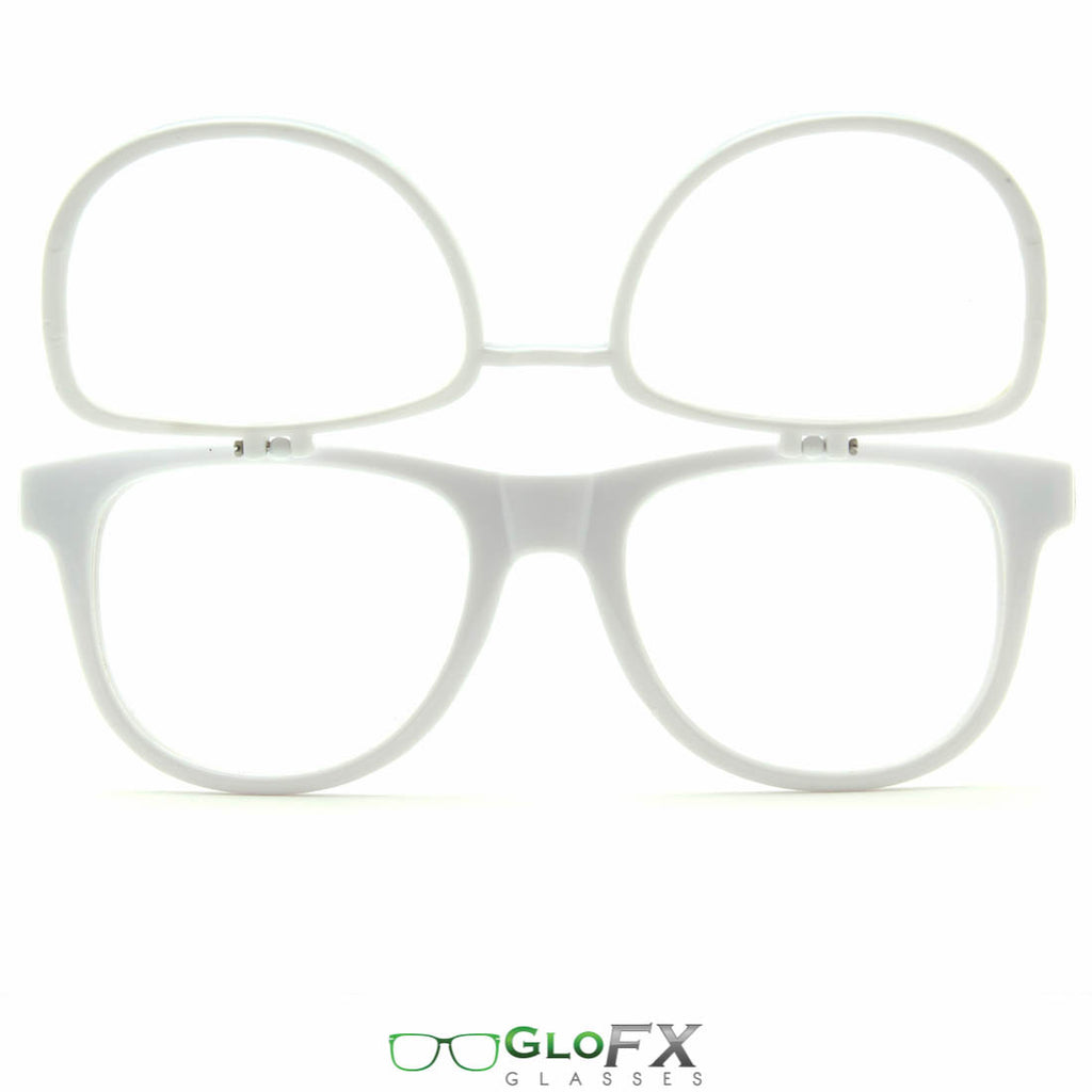 GloFX Matrix Diffraction Glasses- White