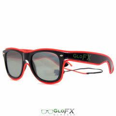 Luminescence Ultimate Diffraction Glasses (Blue or Red)