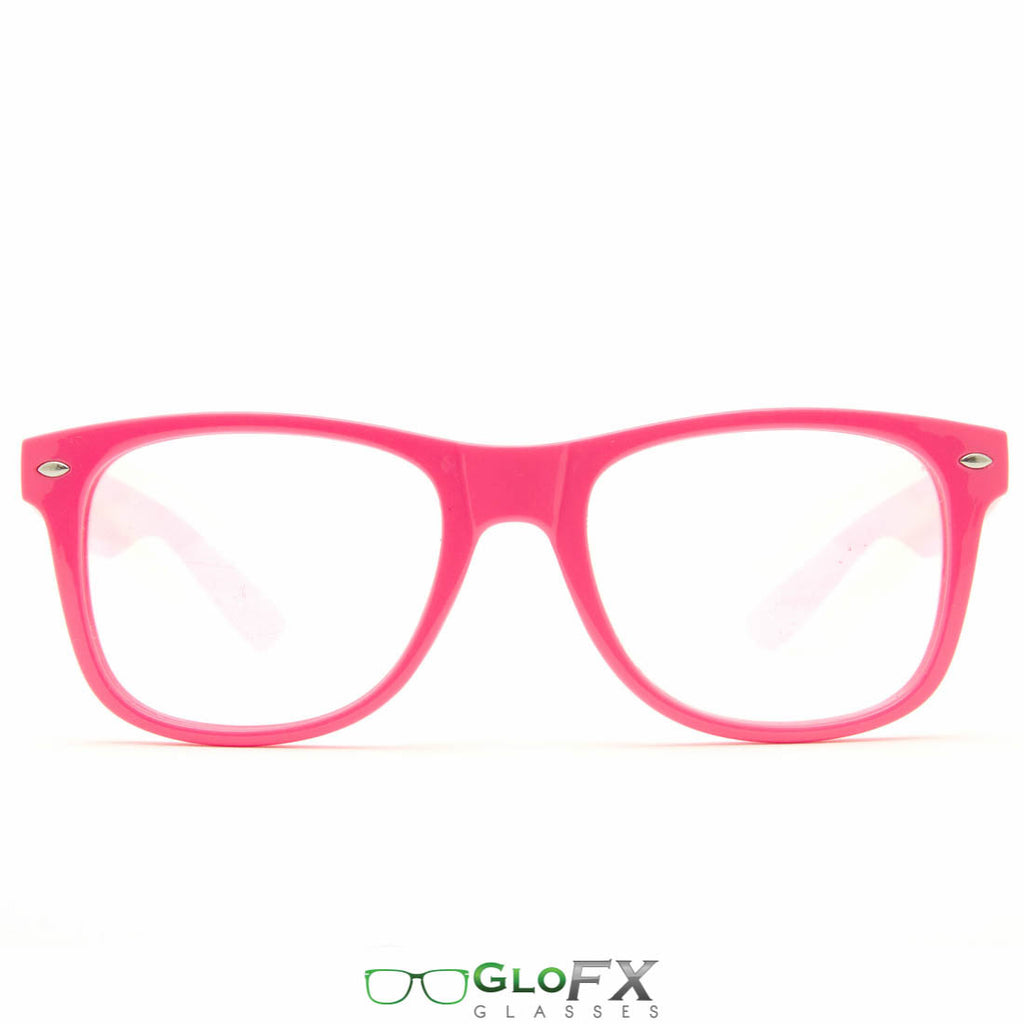 GloFX Ultimate Diffraction Glasses- Pink