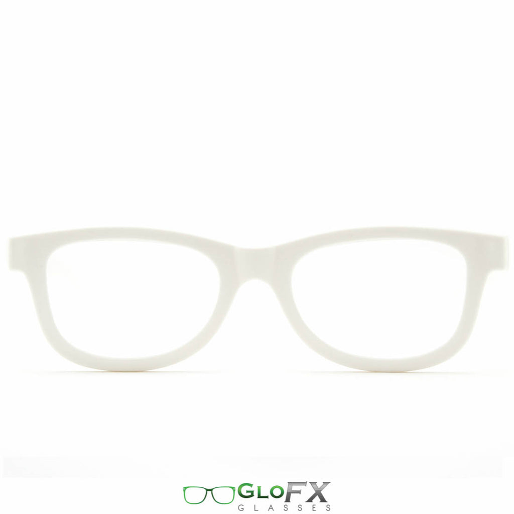 GloFX Standard Diffraction Glasses - White