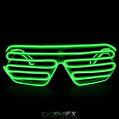 GloFX Luminescence Shutter Frames- Green w/ Lime
