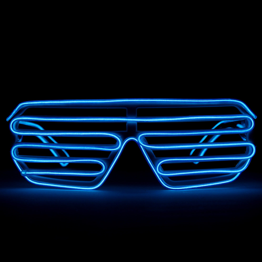 GloFX Luminescence Shutter Frames- White w/ Royal Blue
