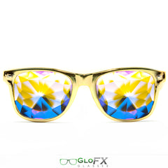 Ultimate Kaleidoscope Glasses – Metallic Gold Limited Edition