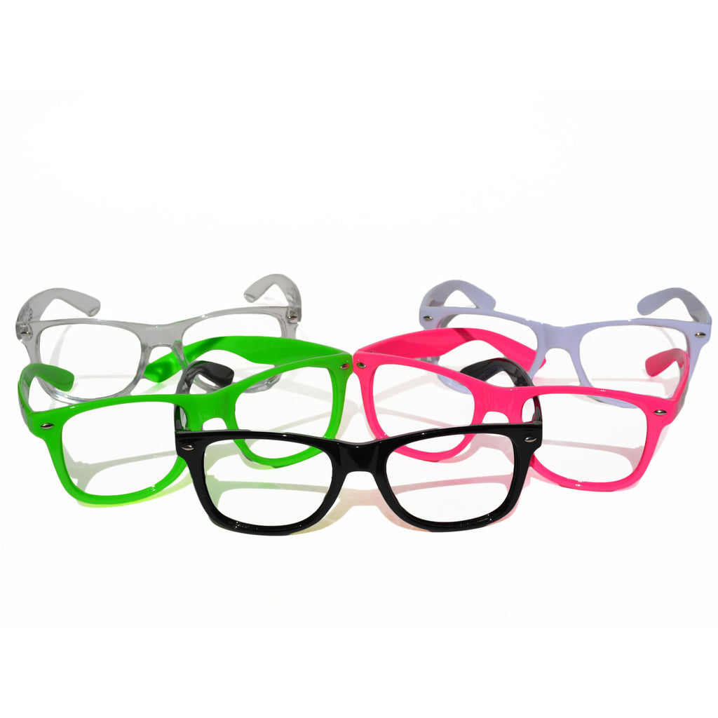 GloFX Nerd Frame Glasses- No Lenses