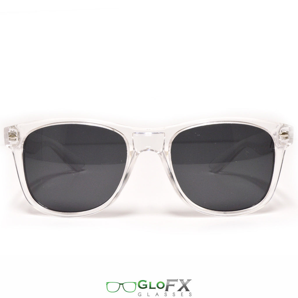 GloFX Regular Sunglasses ; Clear