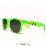 GloFX Regular Sunglasses ; GLOW Green