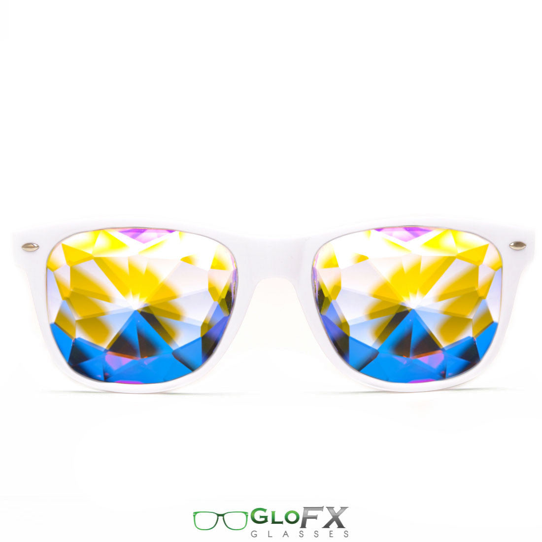 Ultimate Kaleidoscope Glasses – White