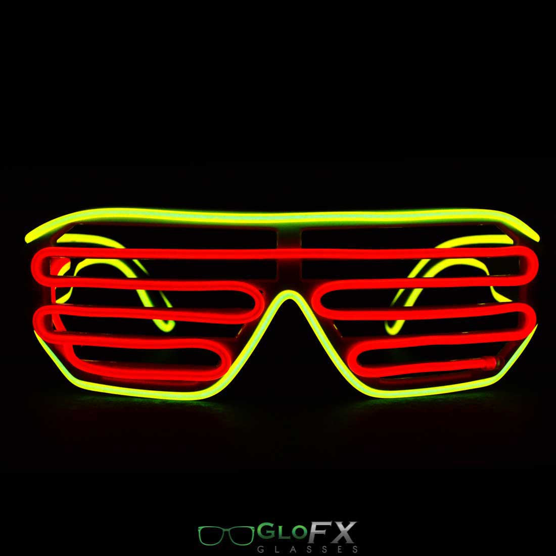 GloFX Luminescence Shutter Frames- Yellow and Red