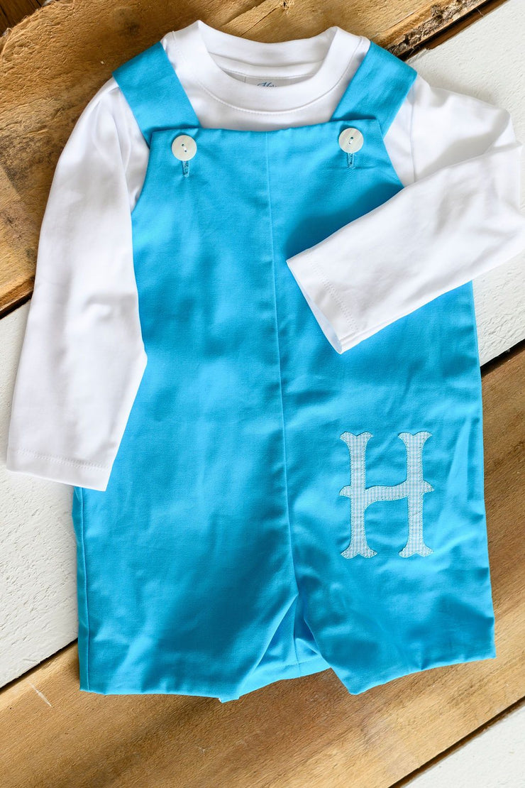 Max Overall in Turquoise Twill, Lined