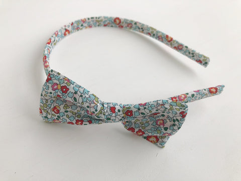 Headband with Bow in Your Fabric Choice