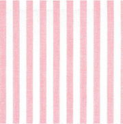 Brigitte Ribbon Top in Pink Stripe with Geo Flower Trim ***PLEASE NOTE FABRIC CHANGE***