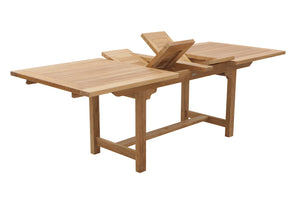 "74-94"" Rectangular Extending Dining Table (narrow)"