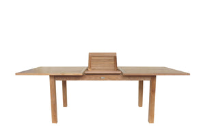 "63-79"" Rectangular Extending Dining Table"