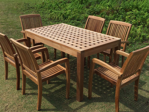 Checkered Dining Table