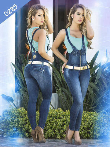 Torero Hight Waisted Levantacola  Colombian Jeans