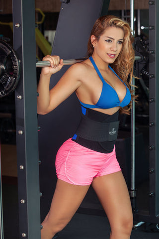 Blue  Waist Cinchers  Faja Gym Faja