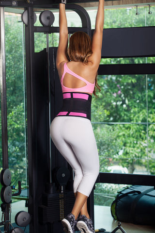 Waist Cinchers Pink  Faja Gym Faja