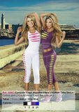 Slashed  Fashionista  Sportswear Yoga  Workout  Set Active-wear