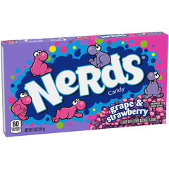 Nerds Grape-Strawberry 5 oz Box (12ct) 3.75 lbs