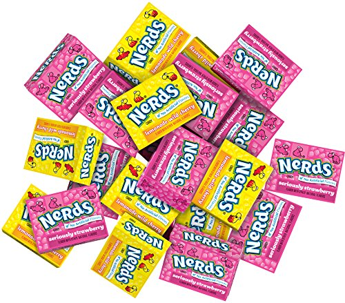 NERDS Lemonade Cherry & Strawberry Fun Size Bulk Candy 18.75 lbs