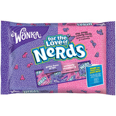 NERDS Grape-Strawberry 12x12oz (9lbs)