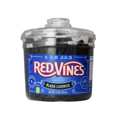 Black Licorice Twists Jar (240 ct)
