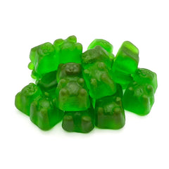 Candy Pros Green Apple Gummy Bears