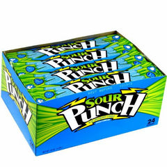 Sour Punch Blue Raspberry (24 ct)