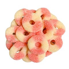 Sour Pink Lemonade Gummy Rings