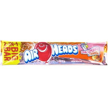 airheads big bar pink lemonade orange 24 ct candy pros