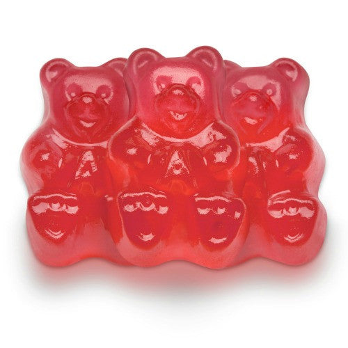Albanese Gummy Bears Fresh Strawberry (5 lb)