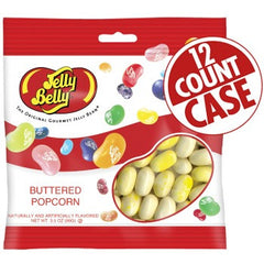 Jelly Belly Jelly Beans Bags Buttered Popcorn (12-3.5 oz)