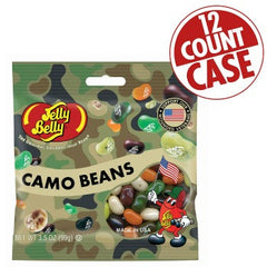 Jelly Belly Jelly Beans Bags Camo Beans (12-3.5 oz)