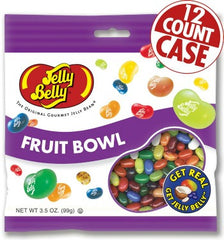 Jelly Belly Jelly Beans Bags Fruit Bowl (12-3.5 oz)