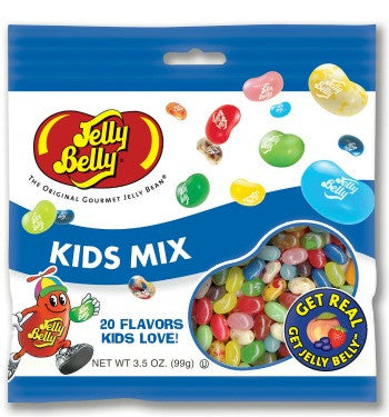 Jelly Belly Jelly Beans Bags Kids Mix (12-3.5 oz)