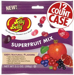 Jelly Belly Jelly Beans Bags Superfruit Mix (12-3.1 oz)